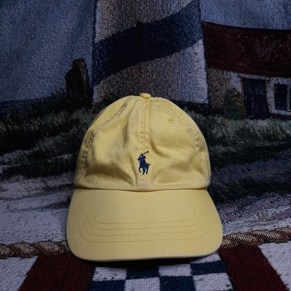 VTG Y2K Polo Ralph Lauren Buckle Baseball Cap